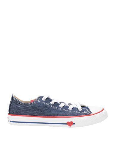 Фото - Низкие кеды и кроссовки от CONVERSE ALL STAR синего цвета