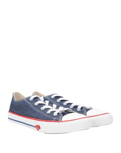 Фото 2 - Низкие кеды и кроссовки от CONVERSE ALL STAR синего цвета