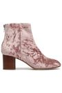 RAG & BONE Drea crushed-velvet ankle boots