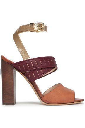 ETRO Laser-cut leather sandals