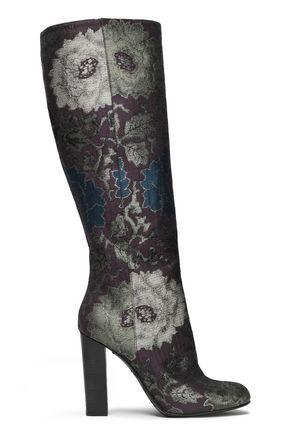 ETRO Brocade knee boots