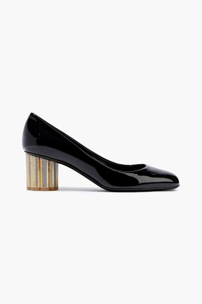 c30903fbfc9 SALVATORE FERRAGAMO Patent-leather pumps