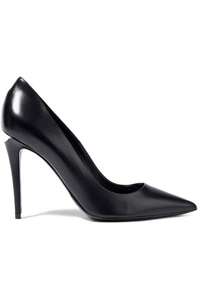 ALEXANDER WANG Tia leather pumps