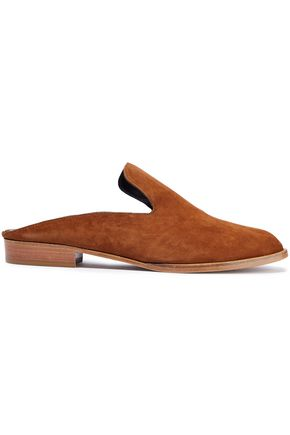 ROBERT CLERGERIE Alicel suede slippers