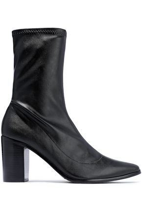 SCHUTZ Leather sock boots