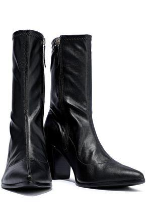 54a12bd9d009 SCHUTZ Leather sock boots