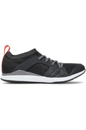 ADIDAS by STELLA McCARTNEY Mesh-trimmed neoprene sneakers