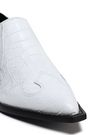 SIGERSON MORRISON Croc-effect leather ankle boots