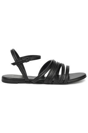ROBERT CLERGERIE Metallic leather sandals