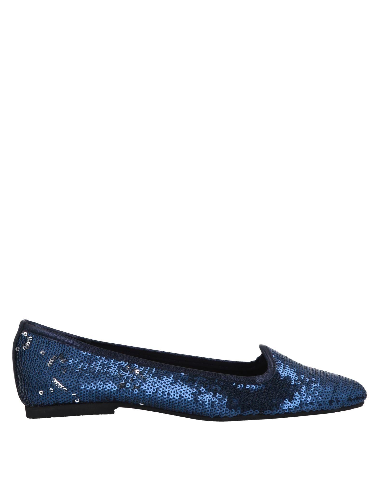 《期間限定 セール開催中》LILO FEE レディース モカシン ブルー 36 紡績繊維