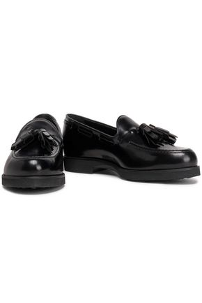TOD'S Tasseled leather loafers