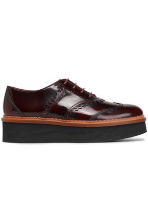 TOD'S Glossed-leather brogues