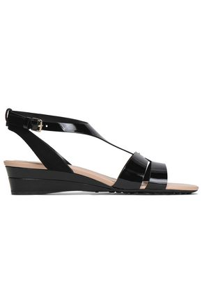 TOD'S | Tod'S Patent-Leather Sandals | Goxip