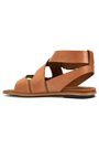 TOD'S Cutout leather sandals