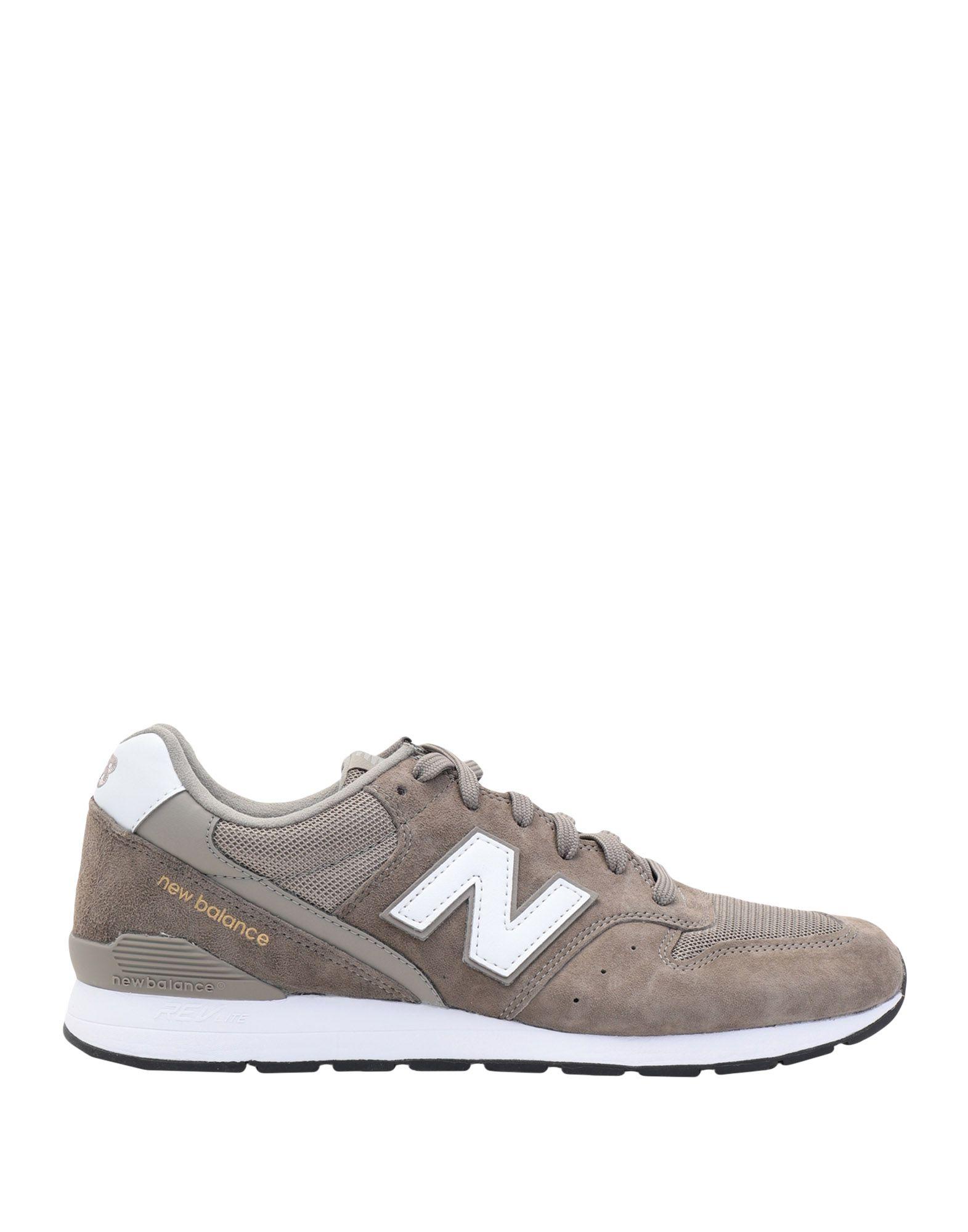 NEW BALANCE Низкие кеды и кроссовки кроссовки женские new balance 996 цвет серый wr996nec d размер 8 5 39