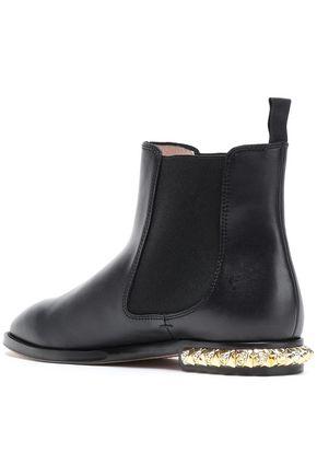 STUART WEITZMAN Studzie leather ankle boots