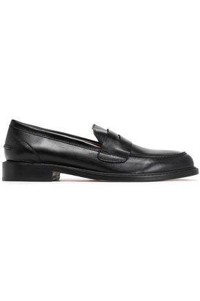 STUART WEITZMAN Leather loafers