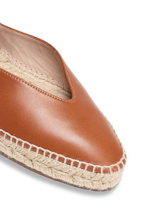 STUART WEITZMAN Leather espadrilles
