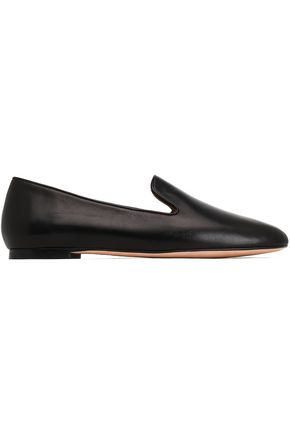 STUART WEITZMAN My Guy leather slippers