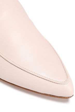 STUART WEITZMAN Leather slippers