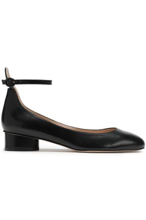 STUART WEITZMAN Polly leather pumps