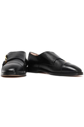 STUART WEITZMAN Leather loafers