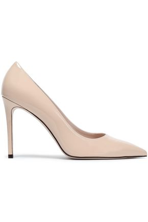 STUART WEITZMAN Leight patent-leather pumps