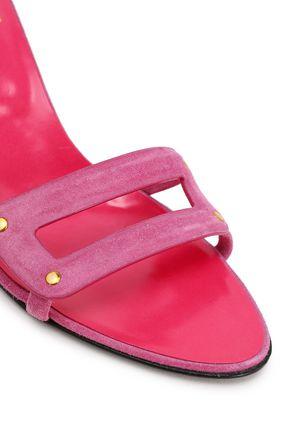 ROGER VIVIER Cutout suede sandals