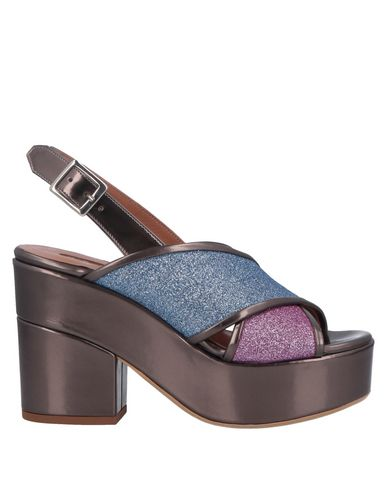 Купить Женские сандали G.P. PER NOY BOLOGNA небесно-голубого цвета