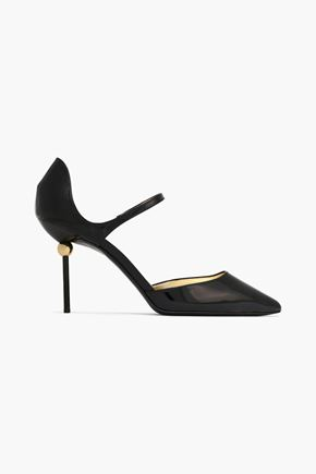 ROGER VIVIER Embellished patent-leather pumps