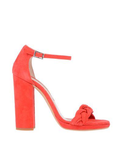 Купить Женские сандали G.P. PER NOY BOLOGNA красного цвета