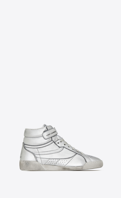 LENNY sneakers in metallic leather