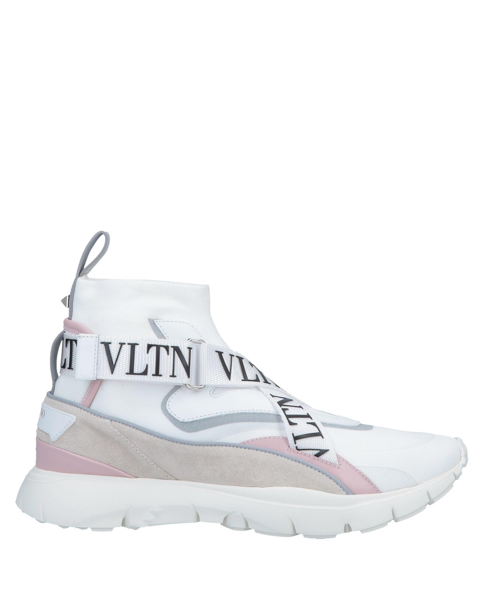 VALENTINO GARAVANI Высокие кеды и кроссовки