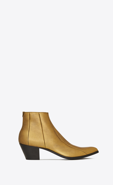 FINN boots in metallic leather