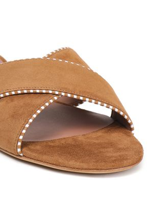 TABITHA SIMMONS Suede slides