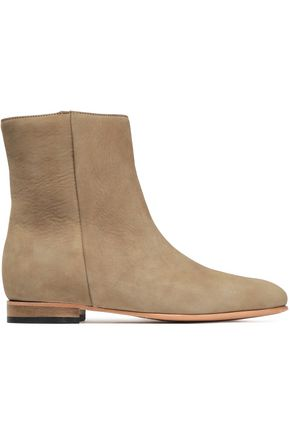 DIEPPA RESTREPO Rod textured-leather ankle boots