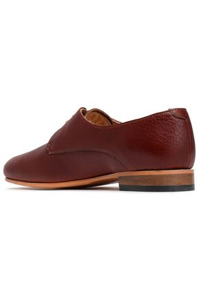 DIEPPA RESTREPO Cali textured-leather brogues