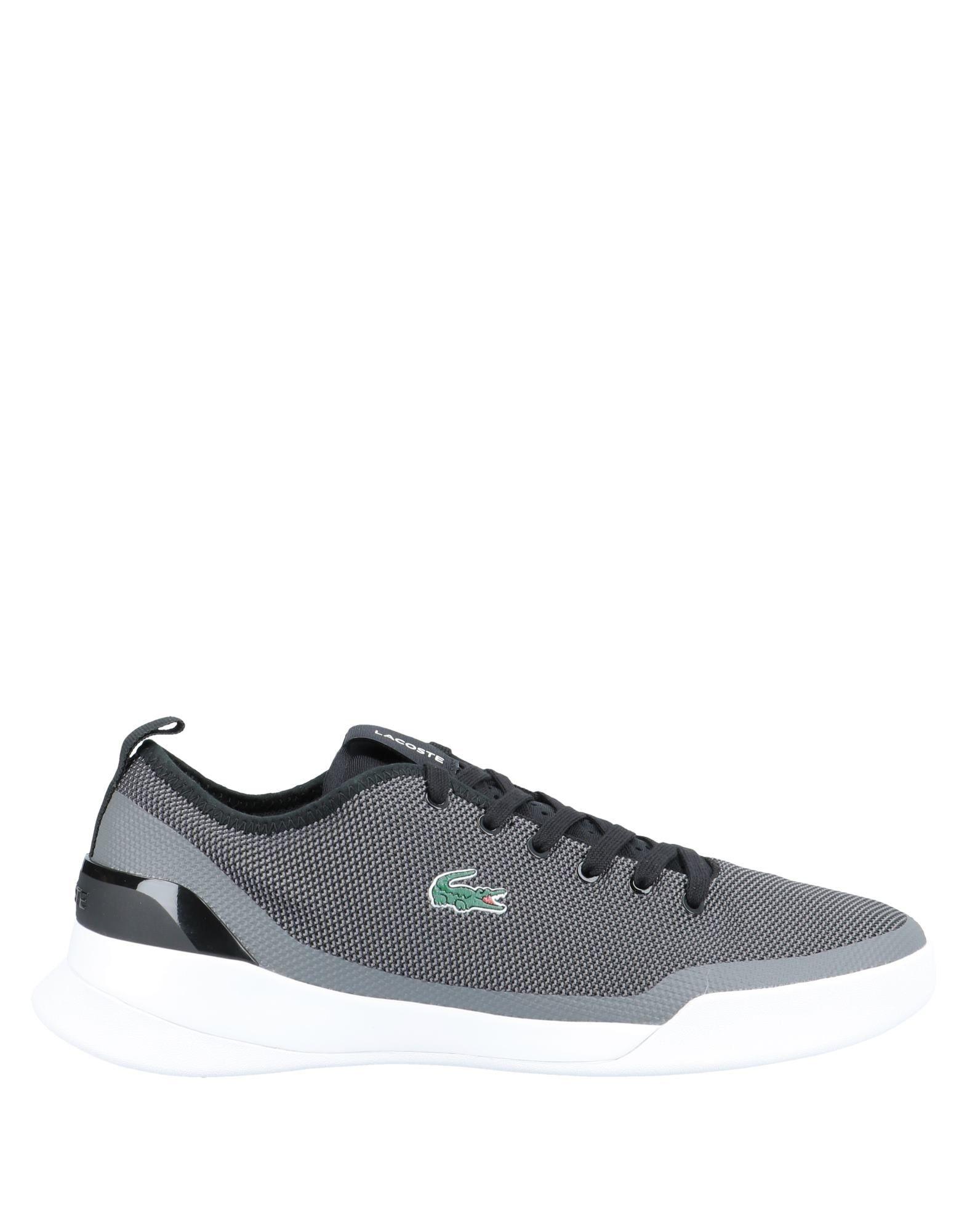 《セール開催中》LACOSTE メンズ スニーカー&テニスシューズ(ローカット) 鉛色 6 紡績繊維