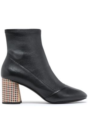 3.1 PHILLIP LIM Drum stretch-leather ankle boots
