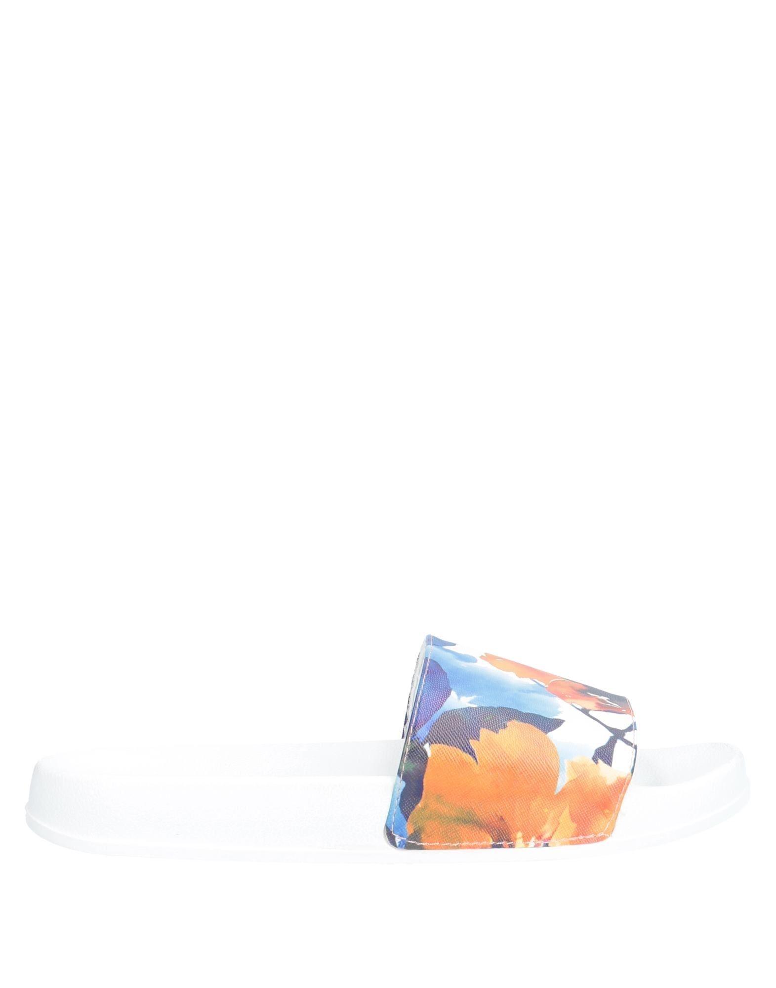 《期間限定セール中》DESIGUAL レディース サンダル ホワイト 36 ゴム