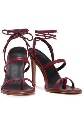 TIBI Leather sandals