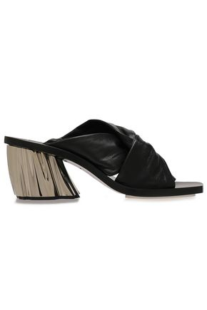 PROENZA SCHOULER Twisted leather mules