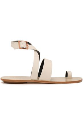 TIBI Hallie leather sandals