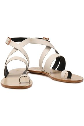 e963a42bc48469 TIBI Hallie leather sandals