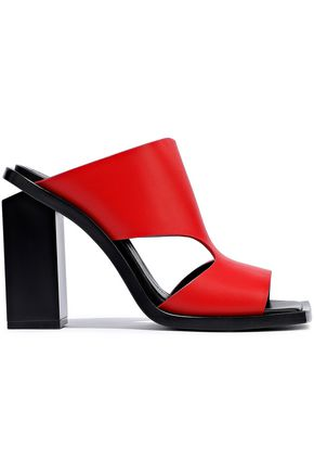 MARNI Cutout leather sandals