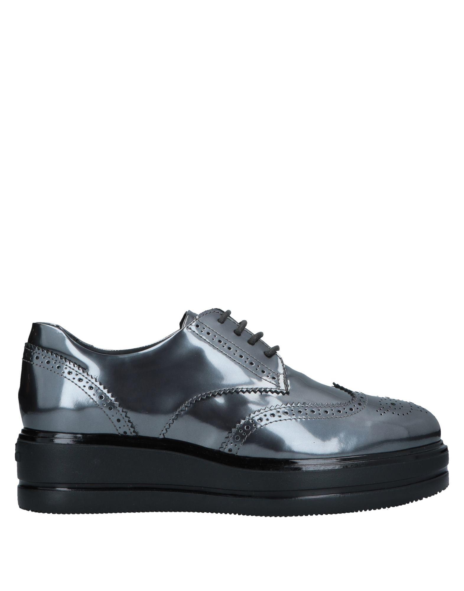 HOGAN Обувь на шнурках обувь на высокой платформе its own brand 116 31 32 33