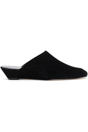 DORATEYMUR Suede wedge mules
