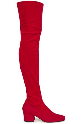 DORATEYMUR Stretch-suede over-the-knee boots