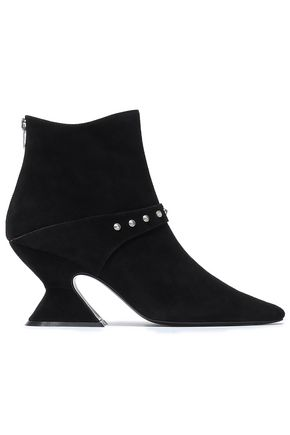 DORATEYMUR Studded suede ankle boots