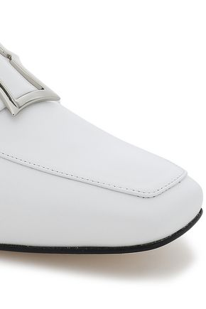 DORATEYMUR Embellished leather loafers